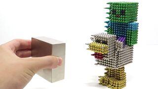 Monster Magnets vs Zombie Chicken Jockey Minecraft