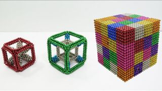 DIY - HOW To Build Magnet Cubes With Magnetic Balls | Magnet Satisfaction Extreme