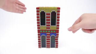 DIY - Building Modern City From Magnetic Balls (Satisfying & Relax)