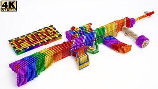 DIY - How To Make AK47 Gun PuBG Mobile From Magnetic Balls | ASMR Satisfying Video