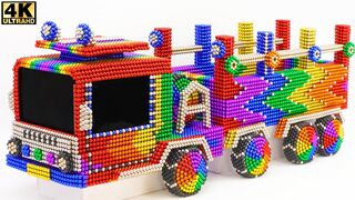 DIY - How To make Amazing Rescue Truck Car From Magnetic Balls | ASMR Satisfying Video
