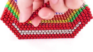 DIY - كيف تصنع جرافة مع الكرات المغناطيسية (مرضية) (ASMR)