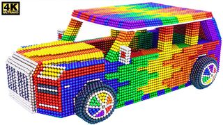 افعلها بنفسك - كيف تصنع سيارة رولز رويس مذهلة من الكرات المغناطيسية (مرضية)