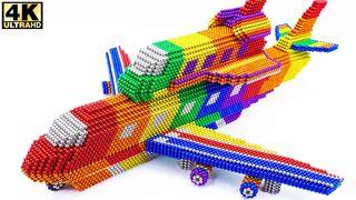 كيف تجعل الطائرة تنقل سفينة الفضاء من الكرات المغناطيسية (مرضية) - الأكثر إبداعًا