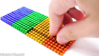 DIY - How To Make Amazing Dump Truck From Magnetic Balls (ASMR Satisfying) - Haeon Magnet 해온 4K