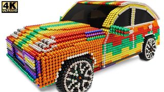 DIY - How To Make Amazing Porsche Cayenne Car From Magnetic Balls (Satisfying) | Magnet Creative